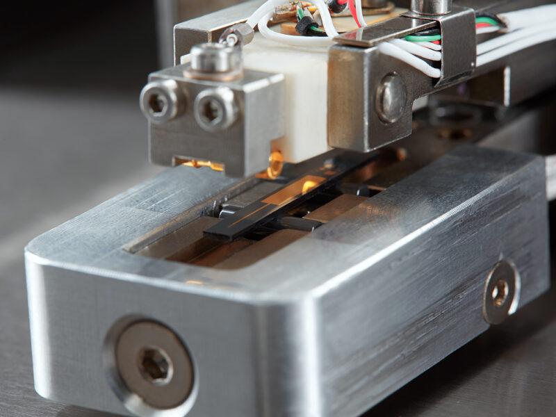 4-Punkt-Biegeprobenhalter -Kontaktaufnahme der Biegeprobe mit Heizer