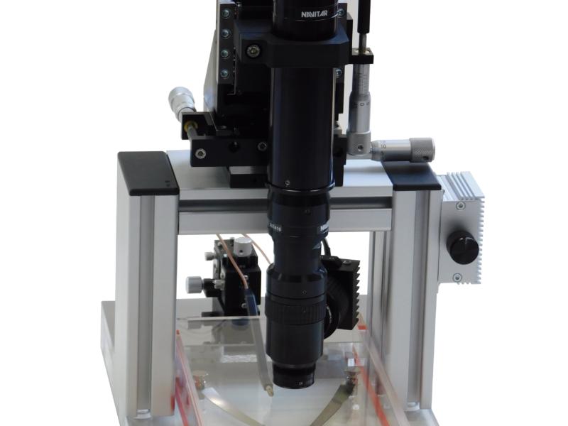 Erweiterung mit Mikroskopkamera
