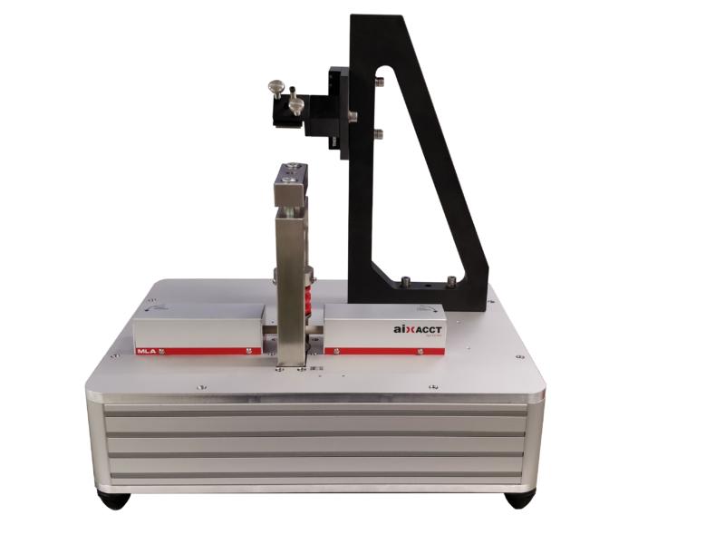 Standard MLA: Probenhalter mit austauschbaren Federn zur Messung bei schnellen Anregungssignalen