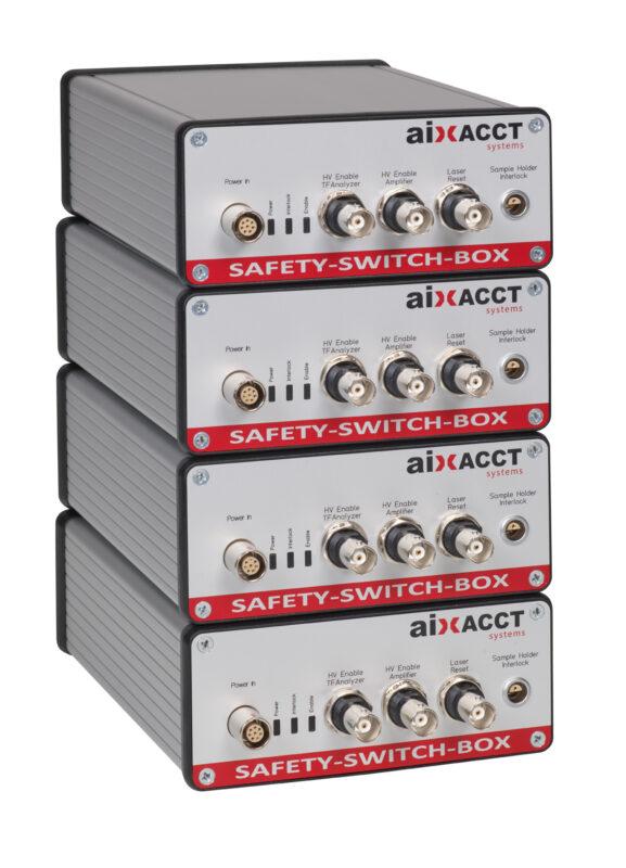 Safety Boxen: Alle Standalone-Systeme mit Verstärkern werden mit Sicherheitssystem ausgeliefert.